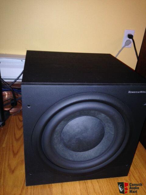 b w asw 610xp subwoofer photo 1023305 canuck audio mart. Black Bedroom Furniture Sets. Home Design Ideas