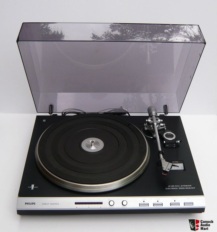Vintage Philips AF-829 Automatic Turntable Photo #1026163