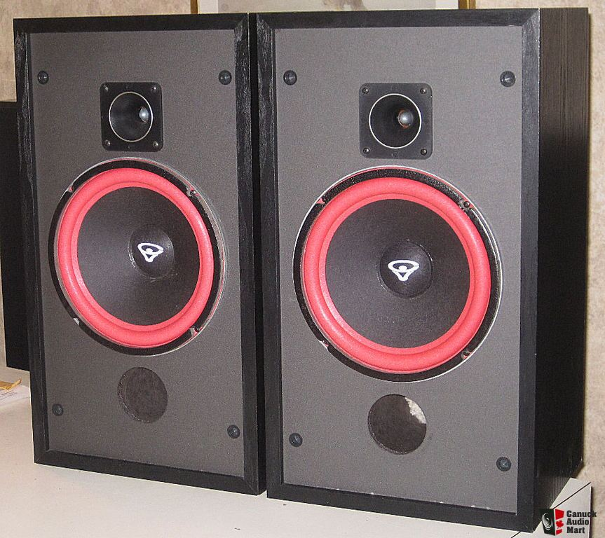Vintage Cerwin Vega Hed 2 10 Speakers New Surrounds On