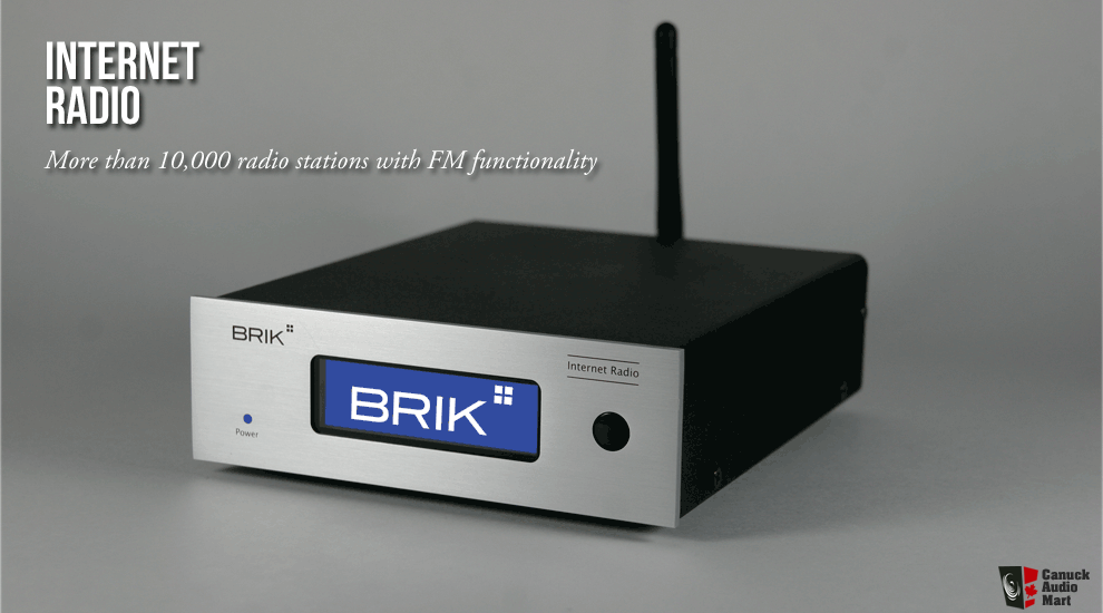 BRIK Internet Radio in black - BRAND NEW !!!