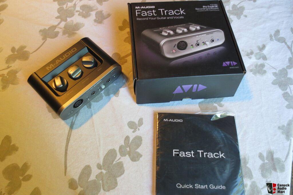 m audio fast track c400 manual