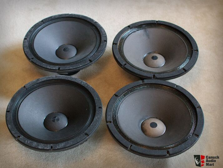 Two Pairs of Altec 416-8B Woofers Photo #1055091