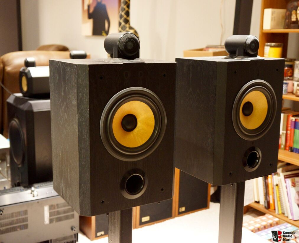 Bowers & Wilkins B&W Matrix 805 Speakers, Recapped and in