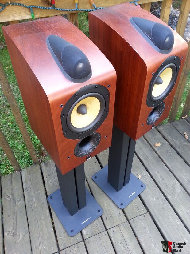 bowers and wilkins 705. bowers and wilkins b\u0026w 705 speakers with stands - sold a