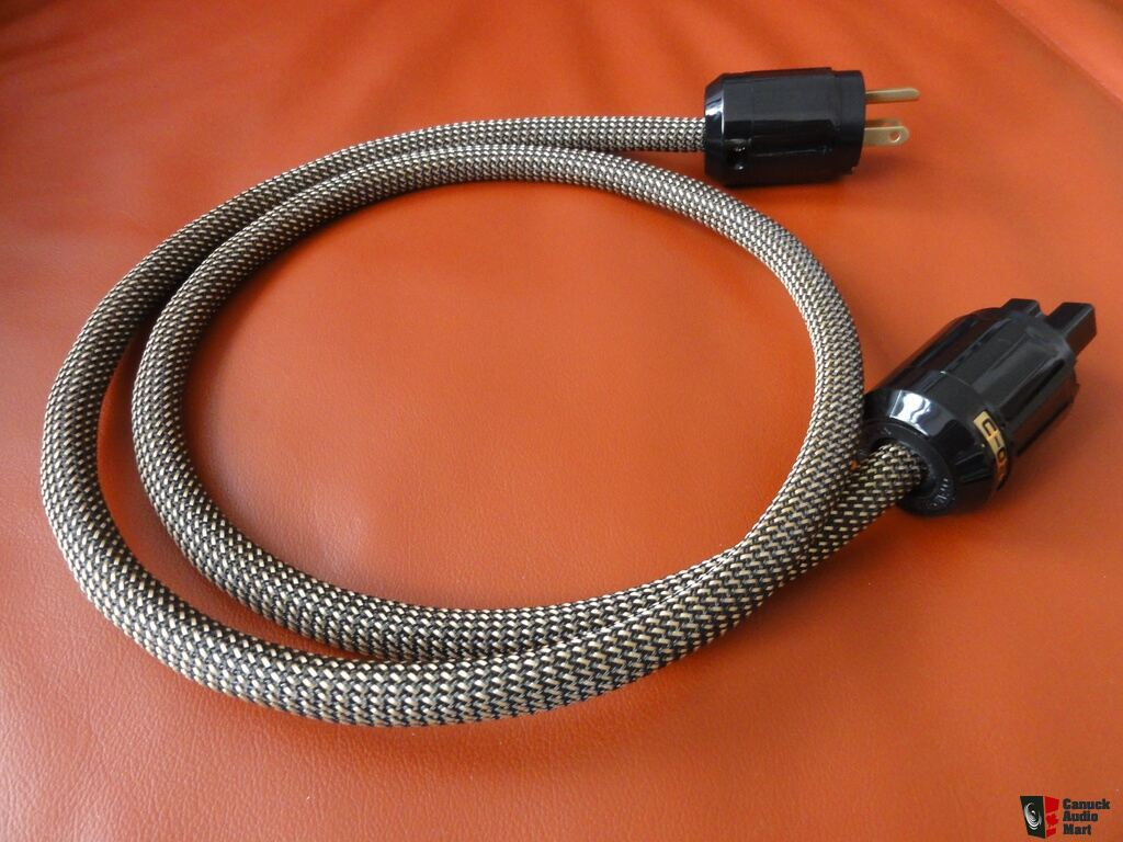 Flexible Power Cable : Brand new high end power cable very flexible photo