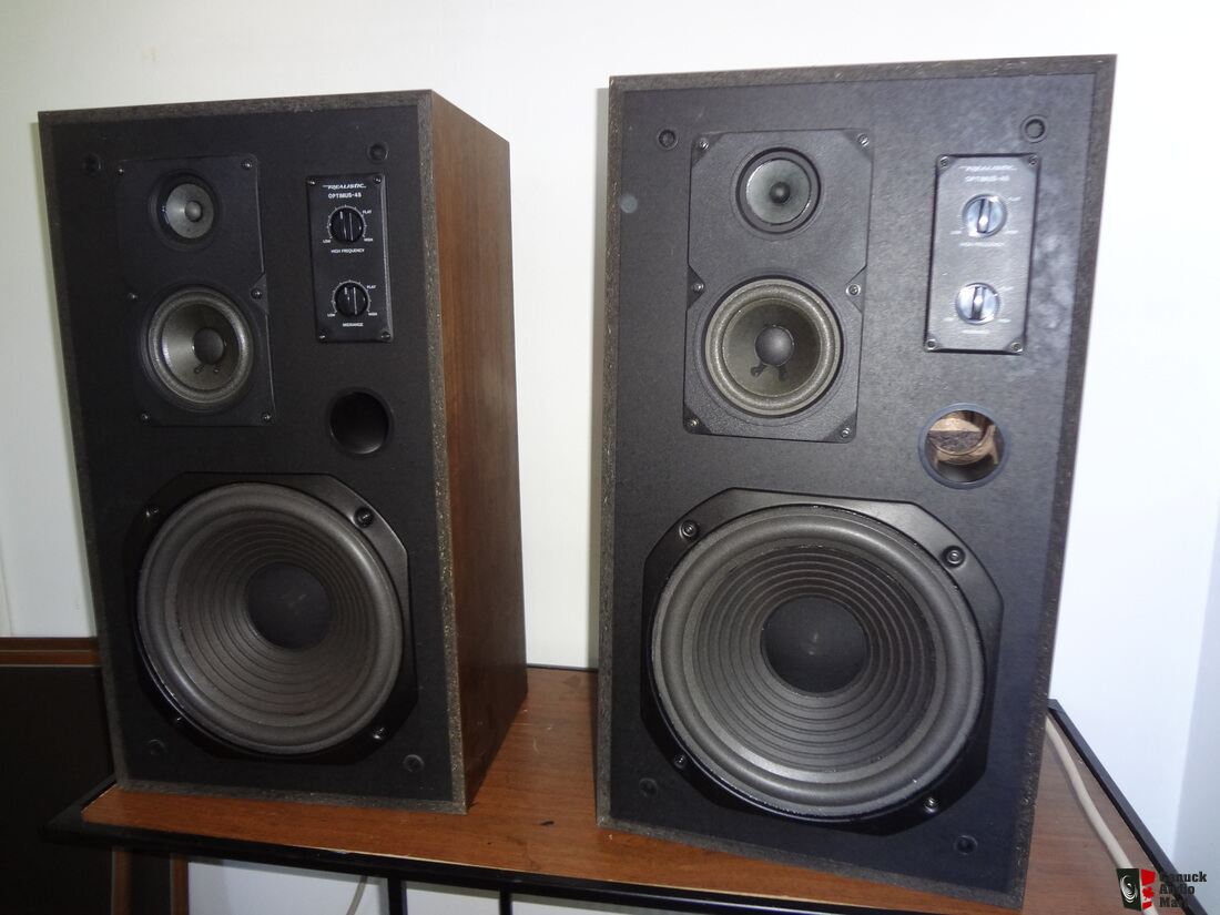 realistic optimus 45 speakers tandy 70w max made in japan photo 1069671 canuck