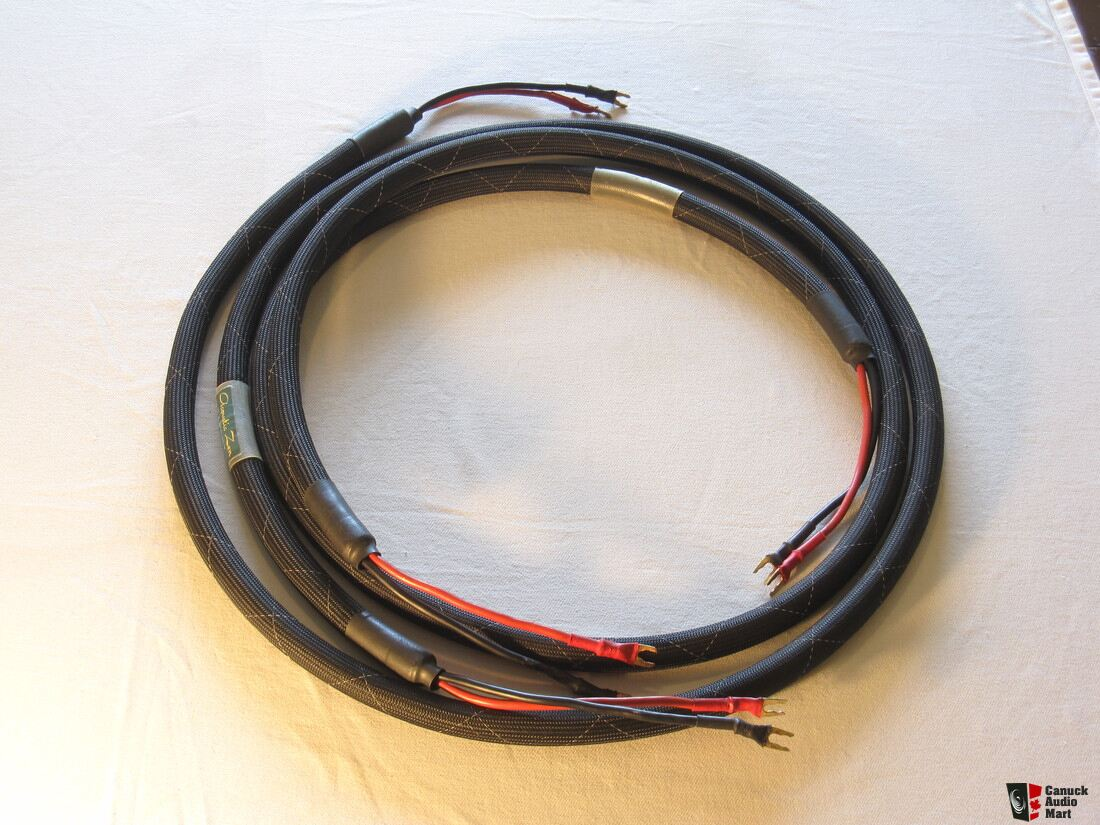 Acoustic Zen Satori 8 Ft Zero Crystal Speaker Cables Price Electrical Wiring Reduced
