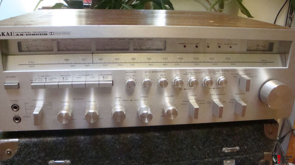 Akai As 1080db Big 4 Ch Receiver Photo 1080570 Us Audio