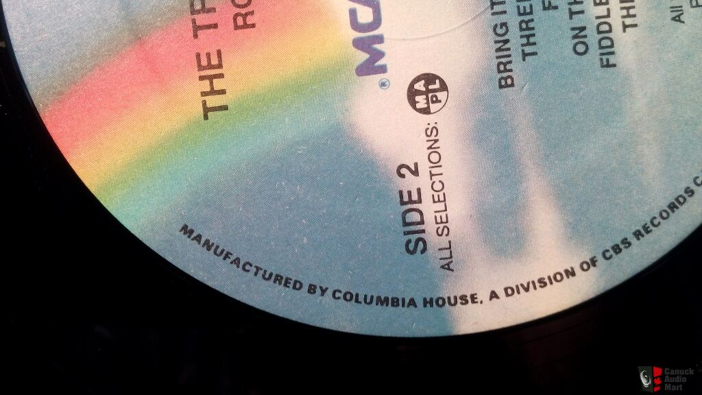 The Tragically Hip S Road Apples Original Columbia House