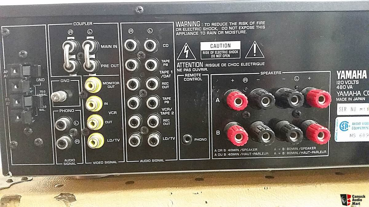 yamaha rx 750 rx 777 stereo receiver photo 1087274