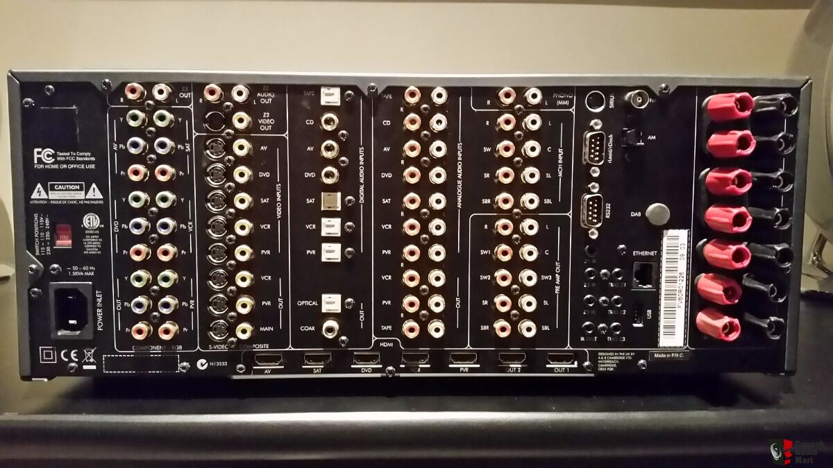 Arcam AVR600 True 1080P Receiver BARELY USED Photo ...