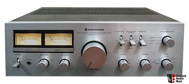 Kenwood KA-501 Integrated Amplifier - Excellent Condition