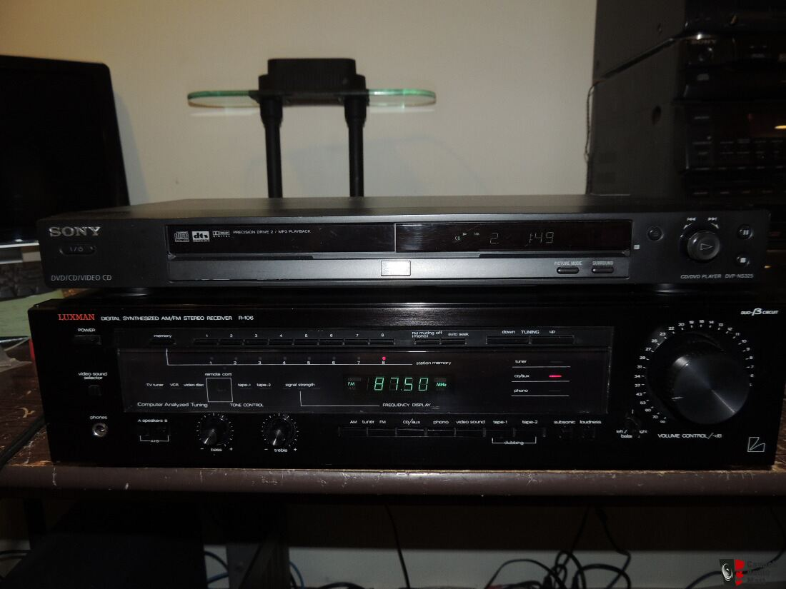 Luxman R-106 Synthesized AM/FM Stereo Receiver 60watts/Channel with Duo-Beta Circuitry