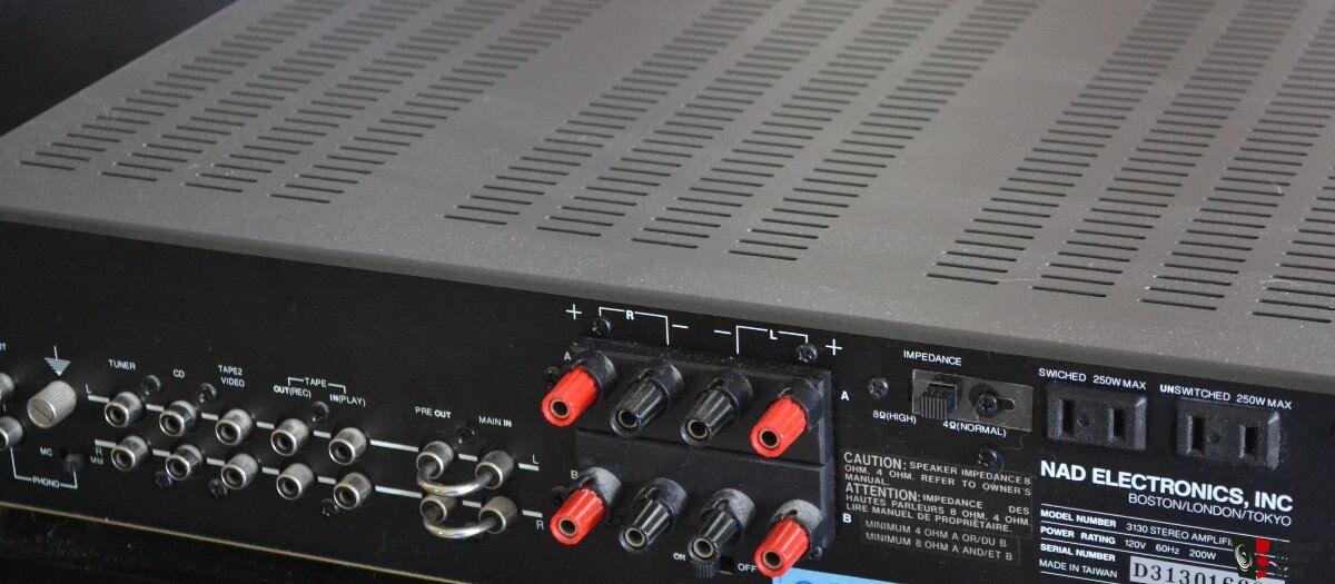 nad 3130 integrated amp photo 1114863 us audio mart rh usaudiomart com NAD 3130 Stereo Amplifier nad stereo amplifier 3130 manual