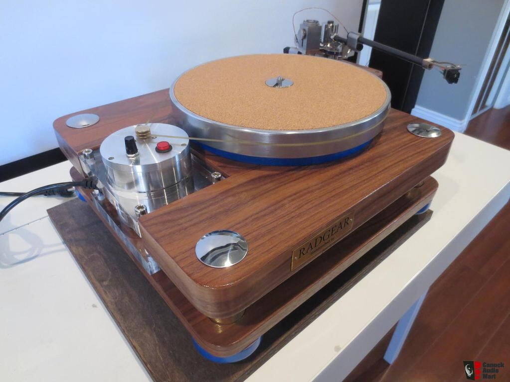 Radgear Custom Two Tier Turntable (AMAZING VALUE Hand Made By John  Masangkay)