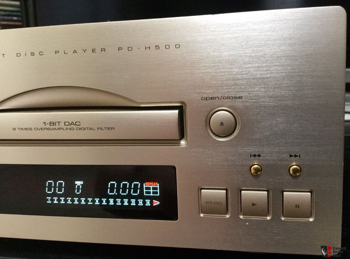 Teac PD-H500 CD Player in Champagne/Silver Photo #1119409