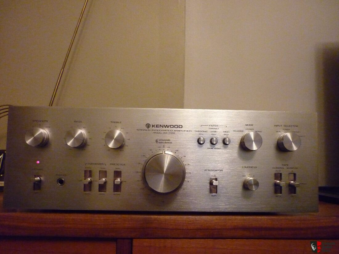 The Kenwood KA-7300 Integrated Amplifier*70's Gold*Restored