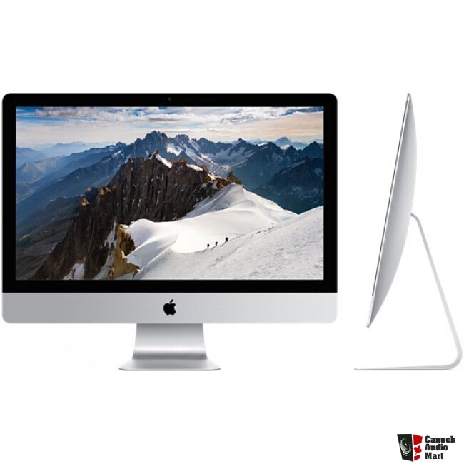 for sale imac 27 retina 5k photo 1122690 canuck audio mart. Black Bedroom Furniture Sets. Home Design Ideas