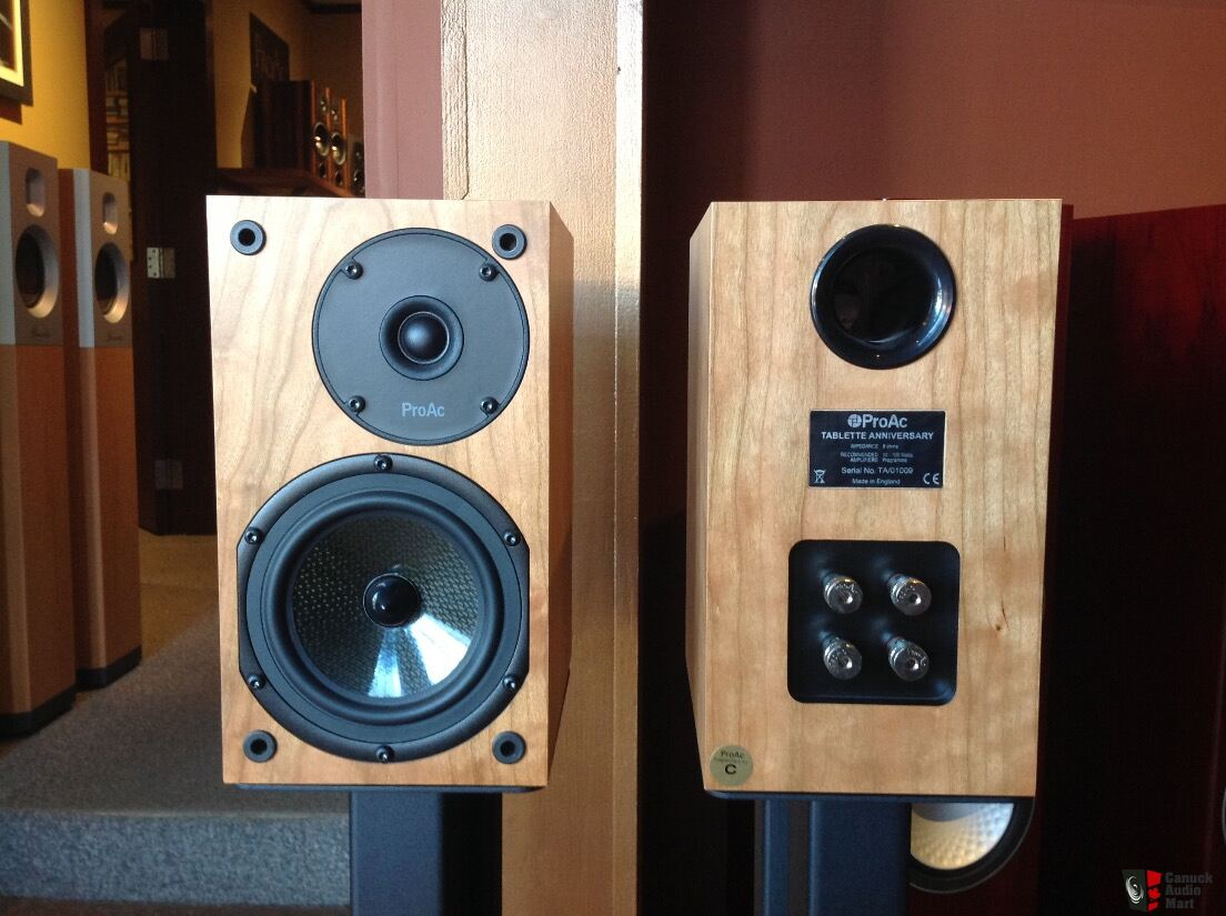 Proac Tablette Anniversary Speakers in Upgraded Cherry ...