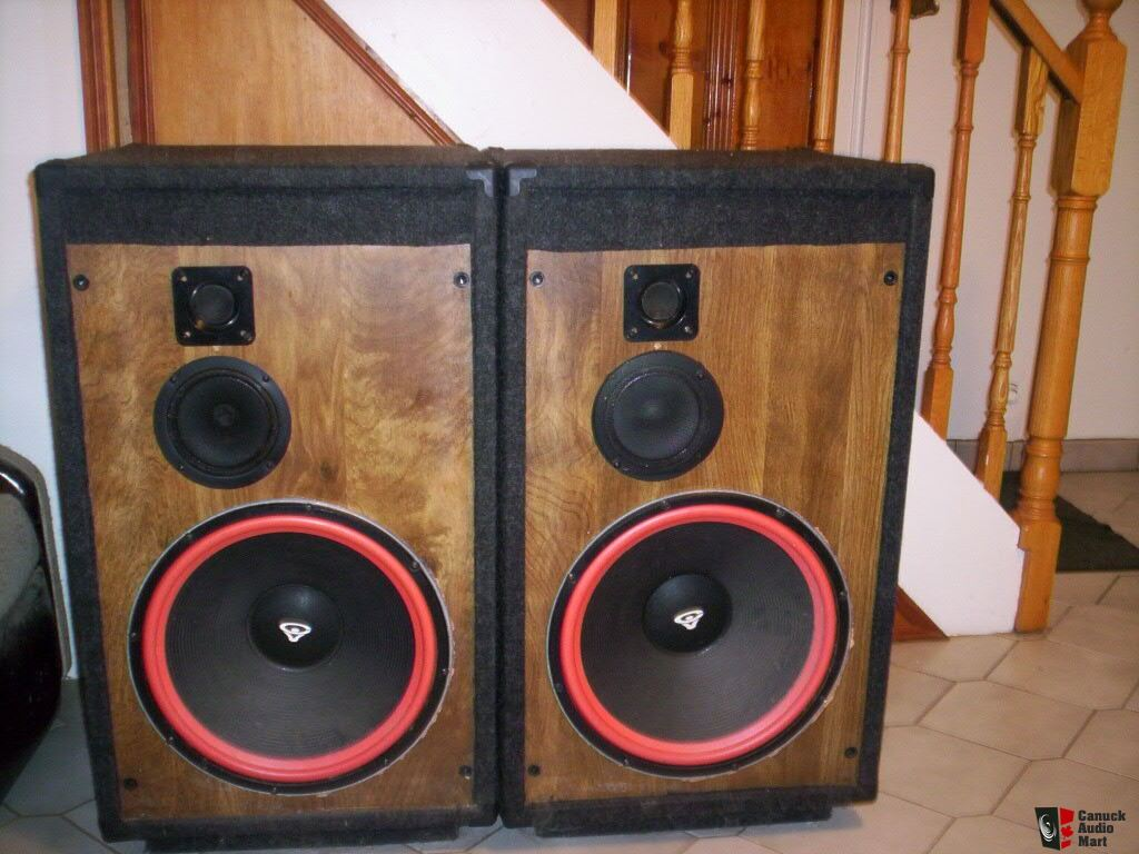 Cerwin Vega Speakers 15 15 Inch Cerwin Vega Woofer
