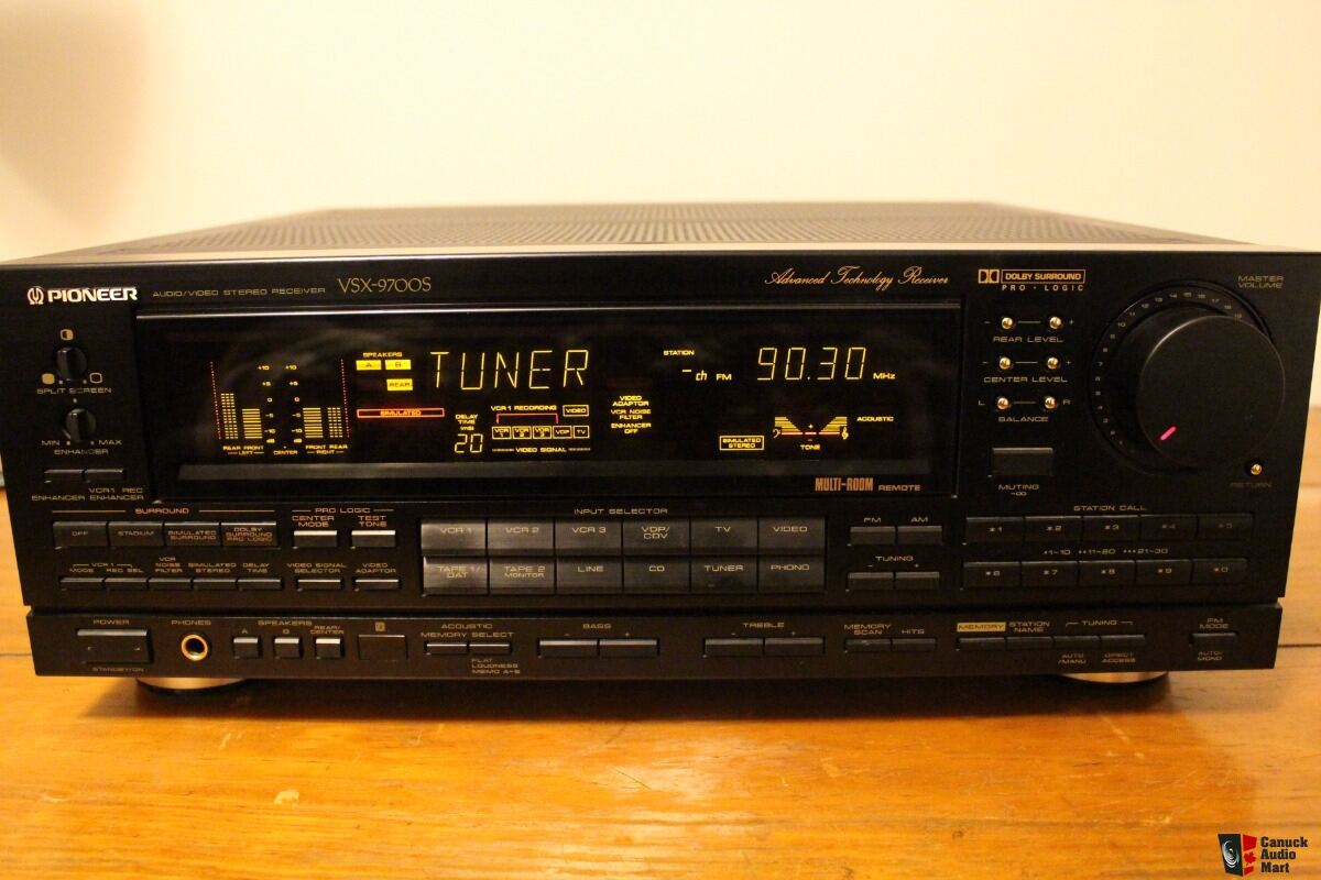 Pioneer Vsx 9700s 5 Channel 580 Watt Receiver Photo