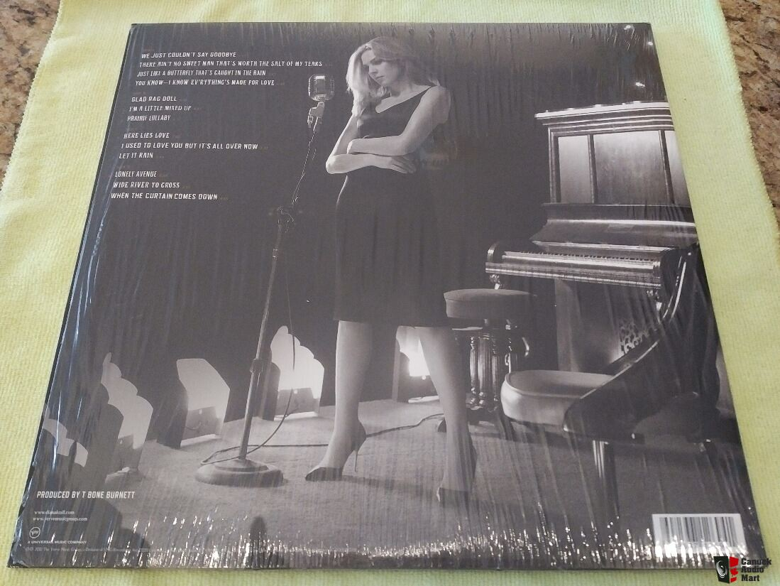 3 Diana Krall audiophile titles (ORG/Verve)