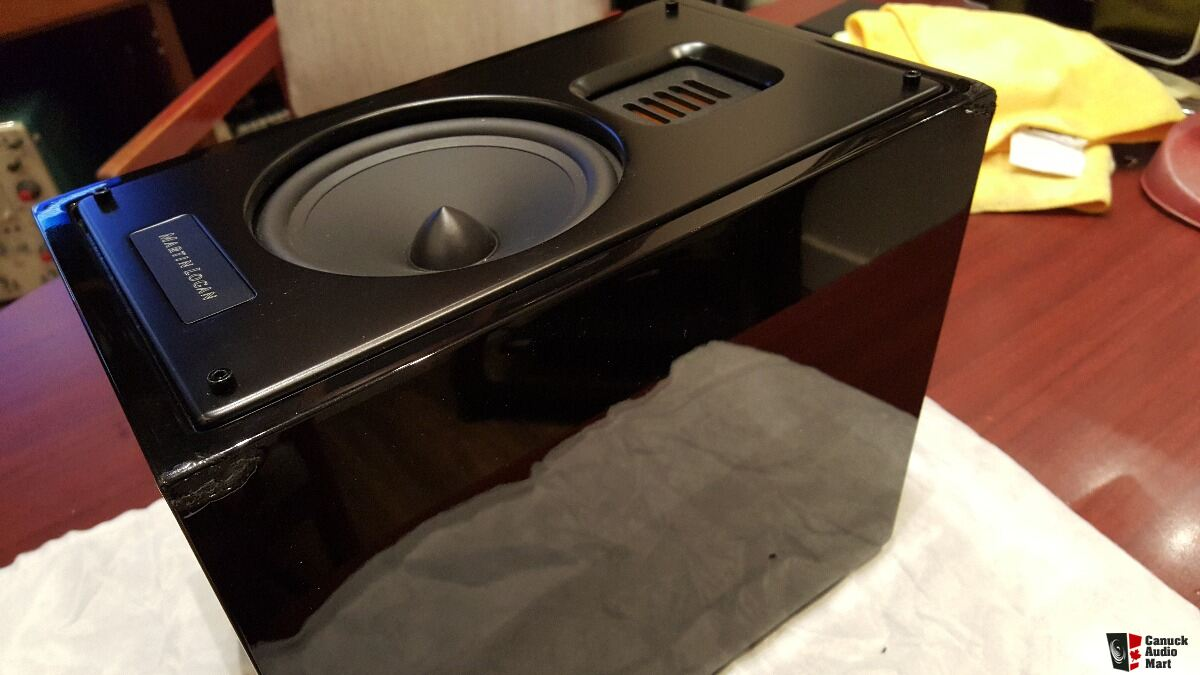 New Martin Logan Motion 15 One Speaker Has Cosmetic Damage