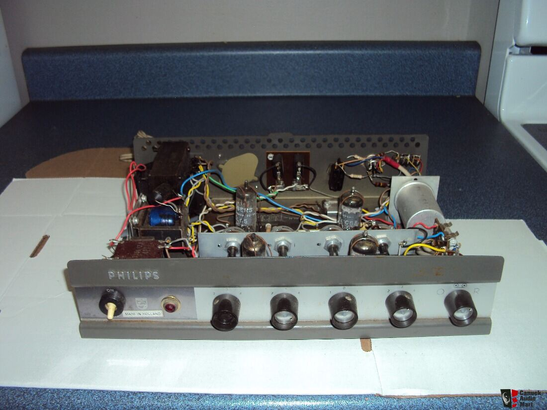 Philips 9016 stereo tube single ended integrated amplifier
