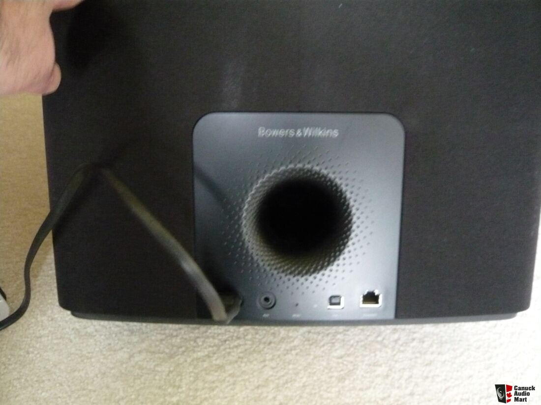 bowers wilkins b w a7 air play speaker photo 1168985 canuck audio mart. Black Bedroom Furniture Sets. Home Design Ideas