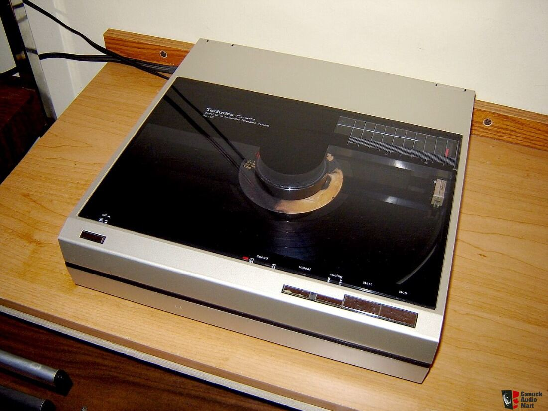 Technics Sl 10 Linear Tracking Turntable Photo 1180841