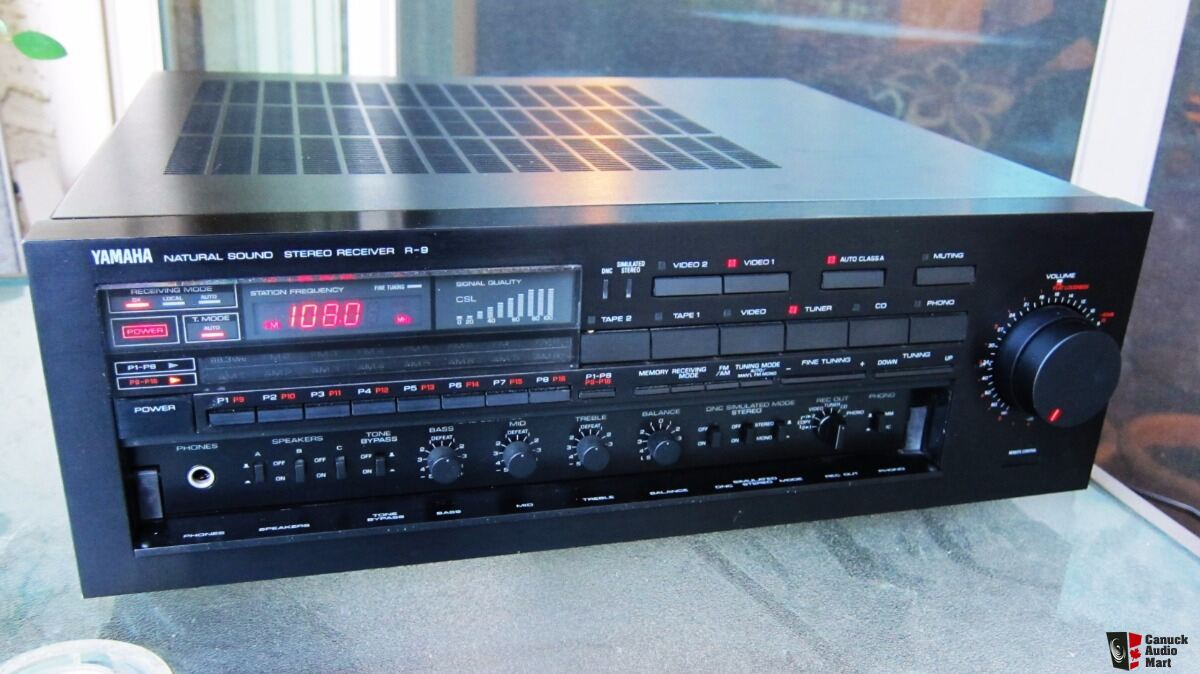 yamaha r 9 receiver photo 1189209 canuck audio mart