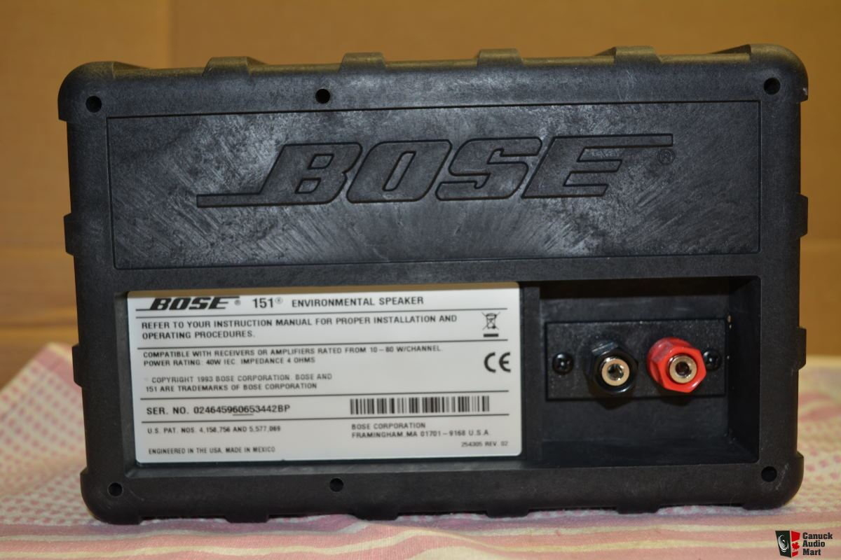 Bose 151 Environmental Outdoor Speakers FOUR available Photo #1192814 ...
