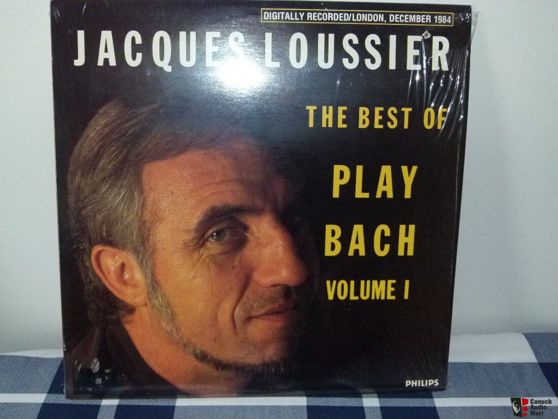 Jacques Loussier Christian Garros Pierre Michelot Play Bach 3