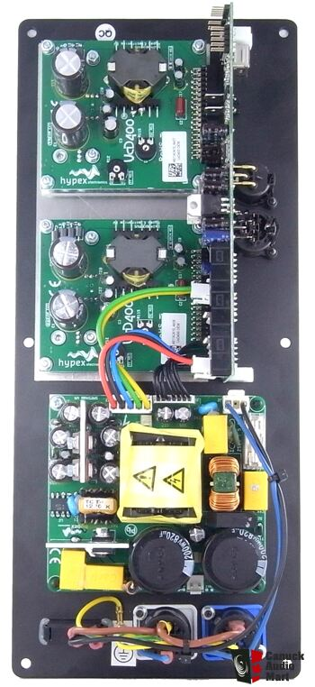 Hypex PSC2 400D DSP plate amplifiers - 400Wx2 per plate