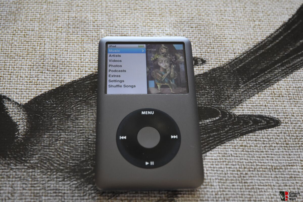 ipod classic 160gb photo 1211830 canuck audio mart. Black Bedroom Furniture Sets. Home Design Ideas