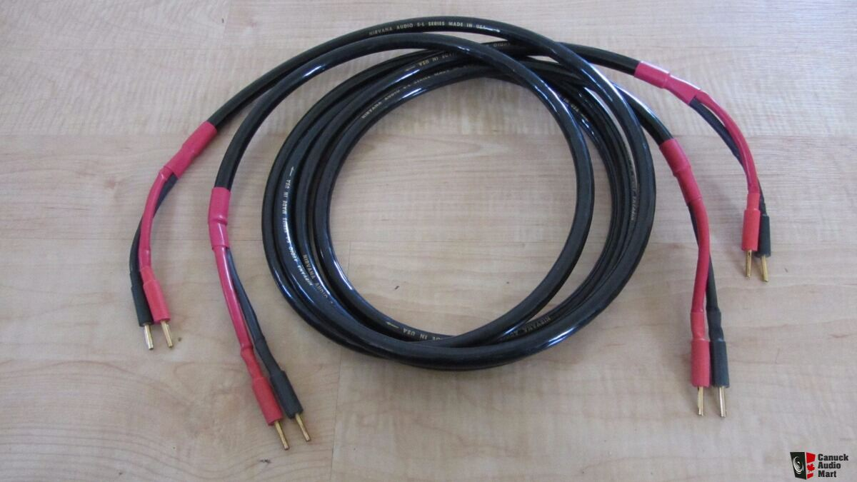 Nirvana audio cables