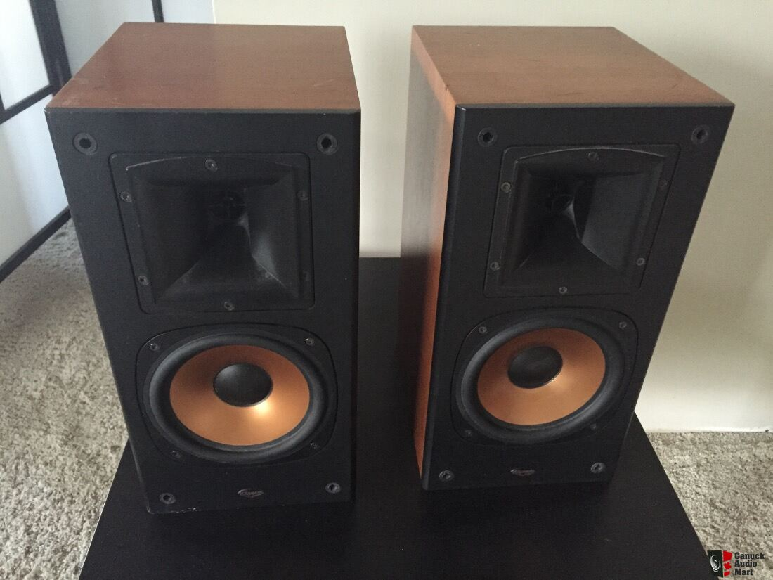 klipsch with ideas mount pair ii speaker speakers bookshelf rb x measurements wall