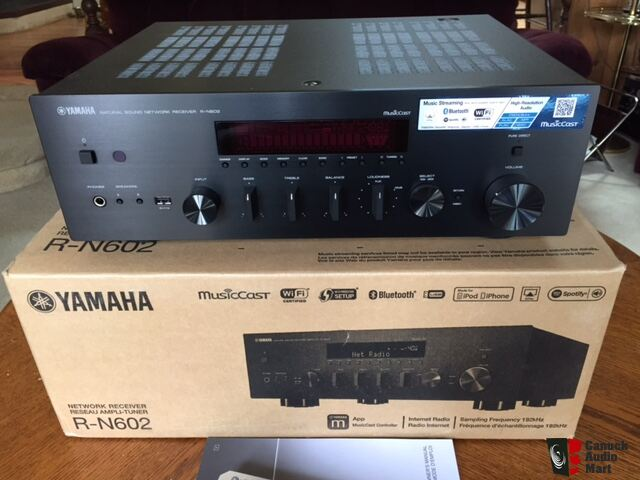 new yamaha r n602 network receiver photo 1233582 canuck