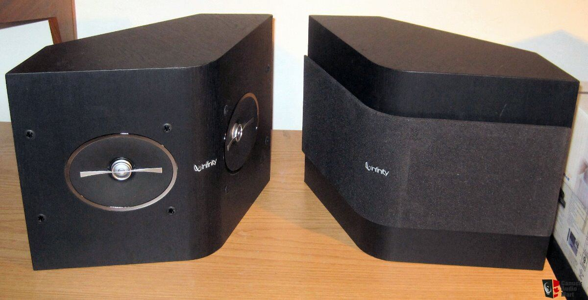 infinity surround speakers. pair infinity reference rs152 surround speakers with hemispherical soundfield j