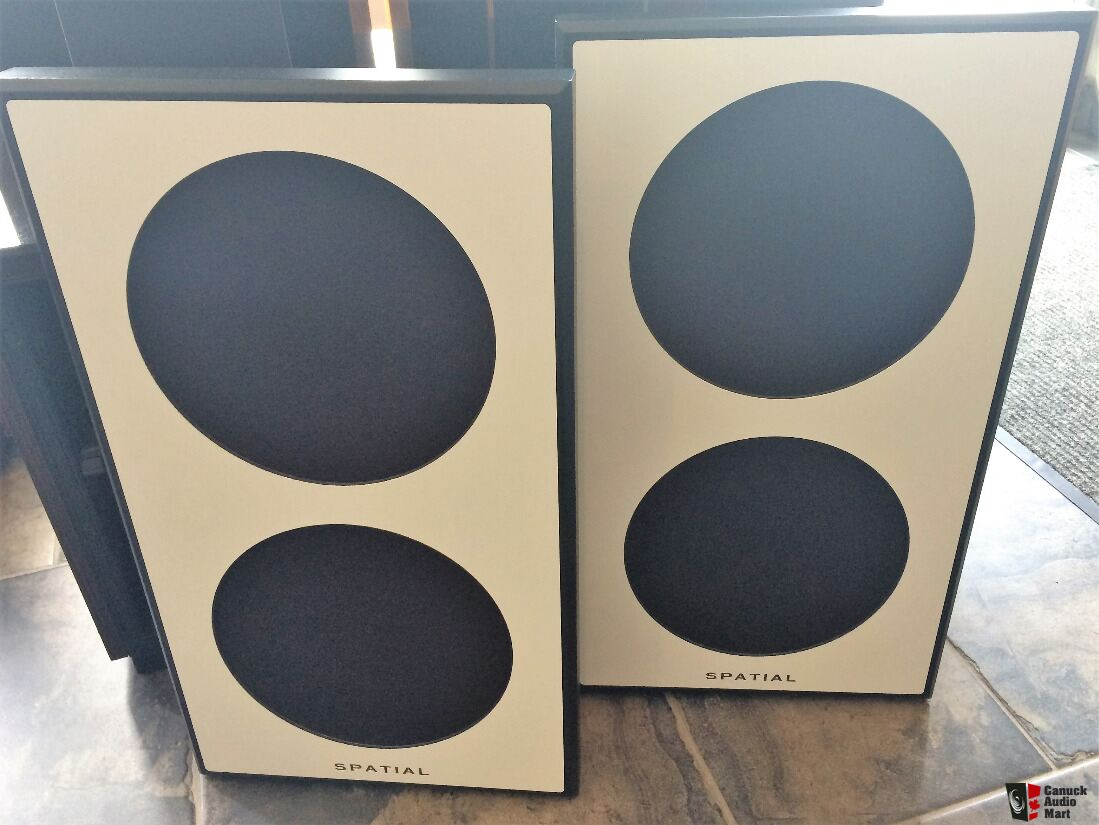 Spatial Hologram M2 Turbo Open Baffle Speakers  Winner of