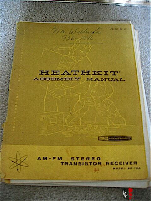 Vintage Heathkit AR-13A Receiver and Manual