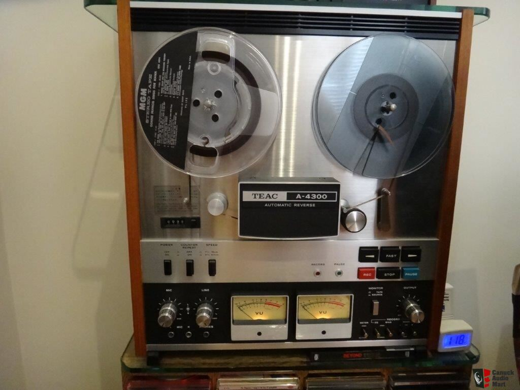 TEAC A4300 Reel to Reel Recorder Photo #1244112 - Canuck Audio Mart