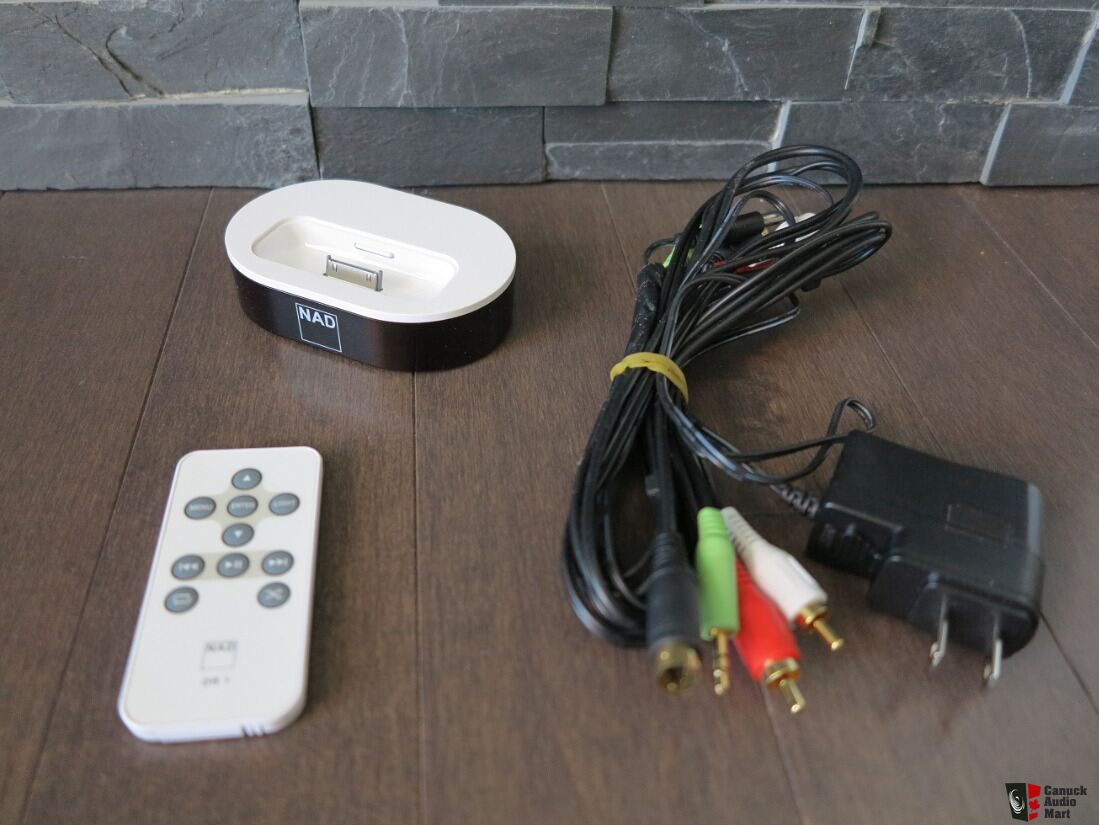 Nad Ipd 2 Dock For Ipod Photo 1249253 Canuck Audio Mart Wiring