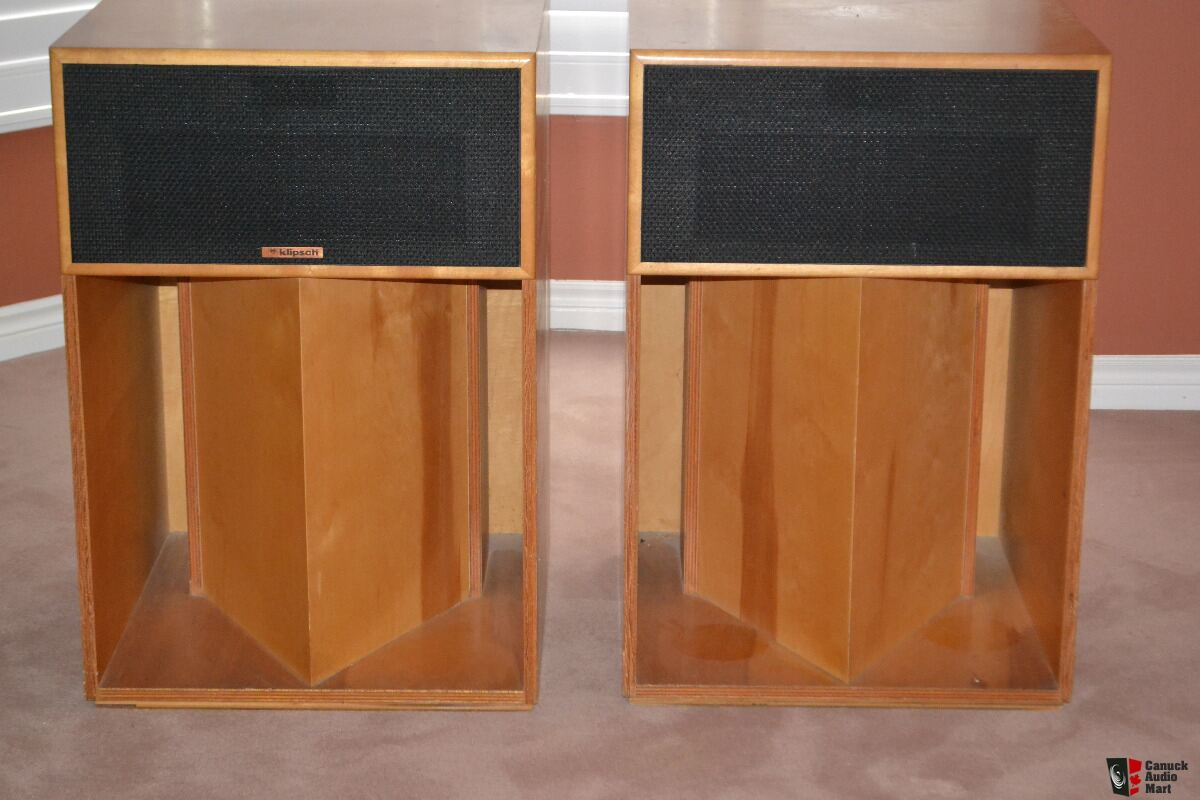 klipsch la scala speakers photo 1249399 canuck audio mart. Black Bedroom Furniture Sets. Home Design Ideas