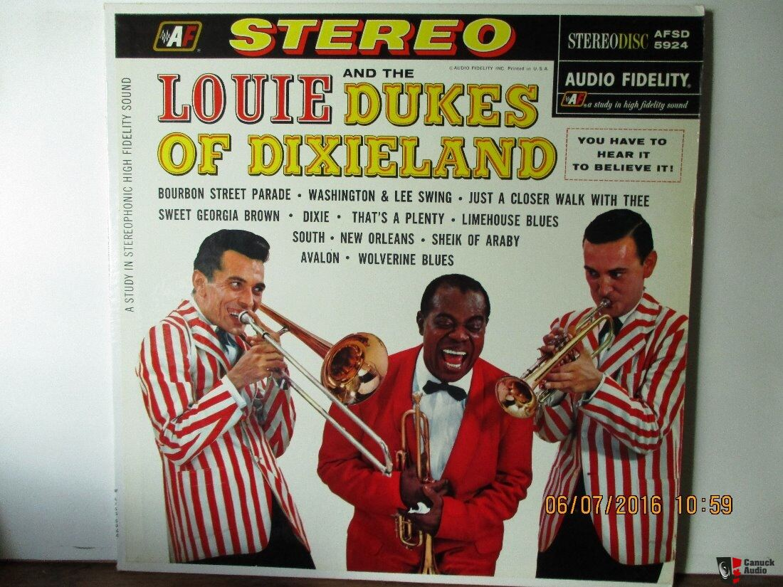 Louis Armstrong And The Dukes Of Dixieland Audtio