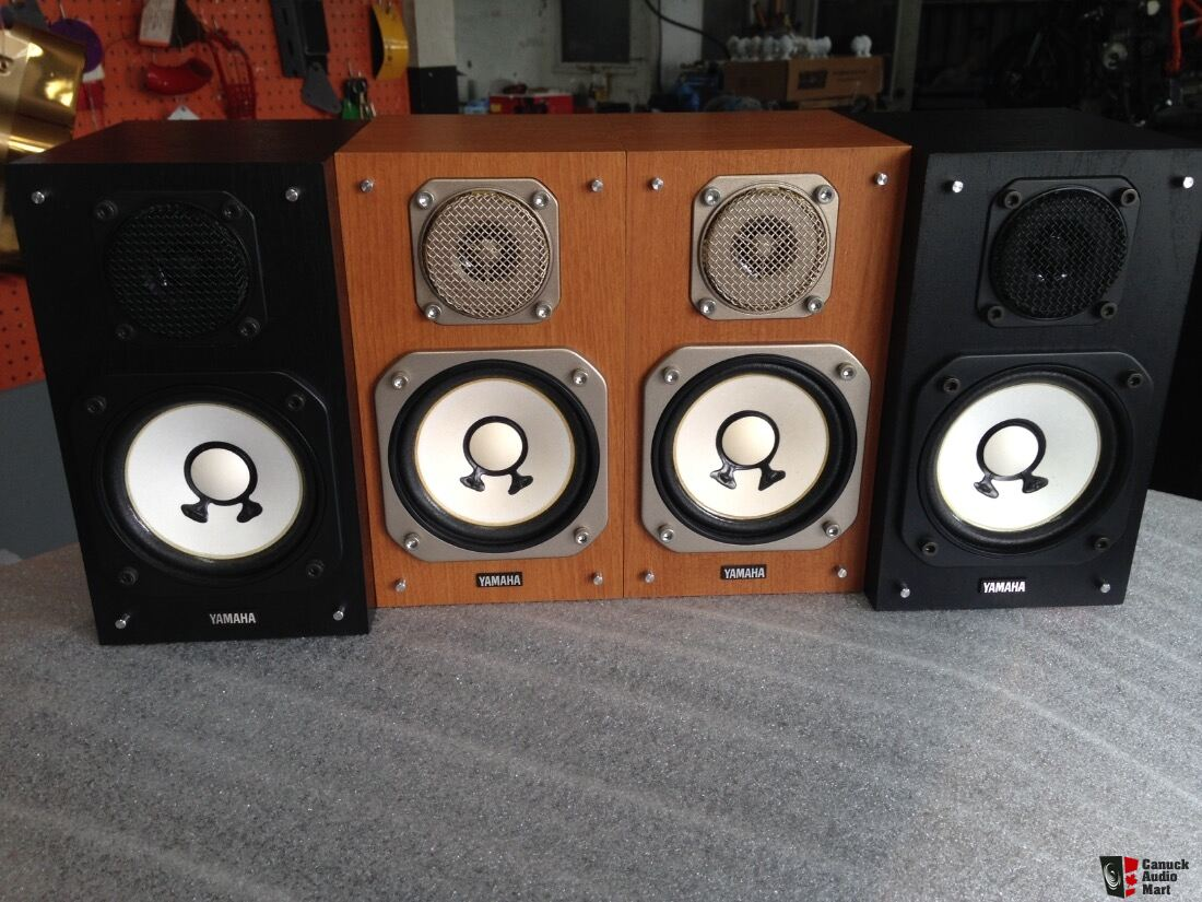 yamaha ns10. speakers yamaha ns-10 mm mini monitor brown wood,the black are sold ns10