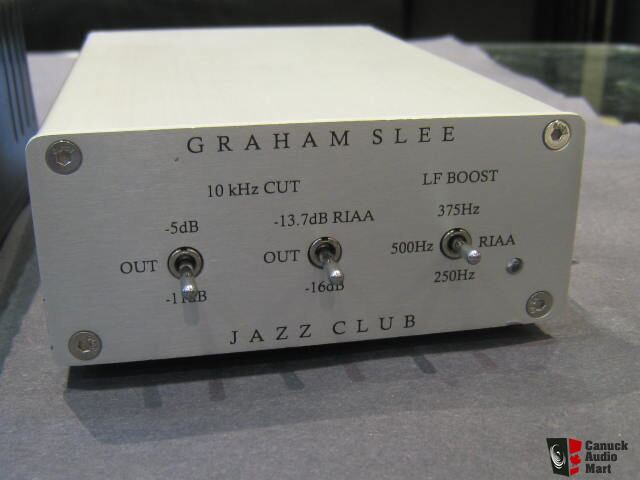 Graham Slee Jazz Club RIAA Phono Preamp Photo #1291859 - US