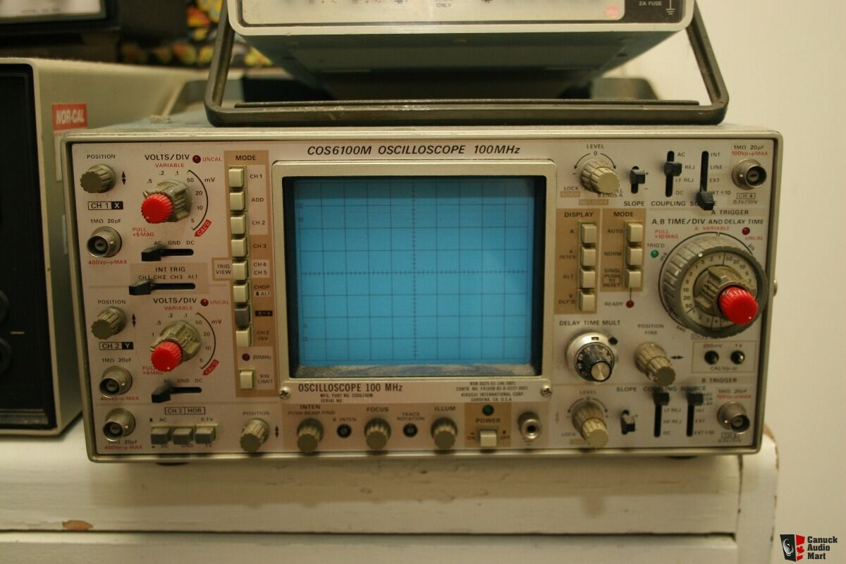 Electronic Test Instruments : Electronic test equipment photo canuck audio mart