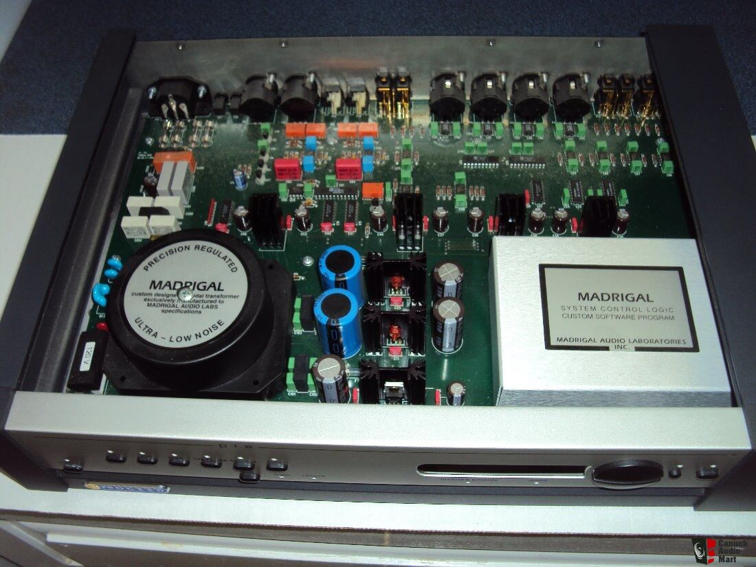 Proceed Model Pre Preamplifier Made By Madrigal Audio Laboratories The Electronic Circuitry Is Custom Designed And Manufactured Us Inc In Usa With Manual