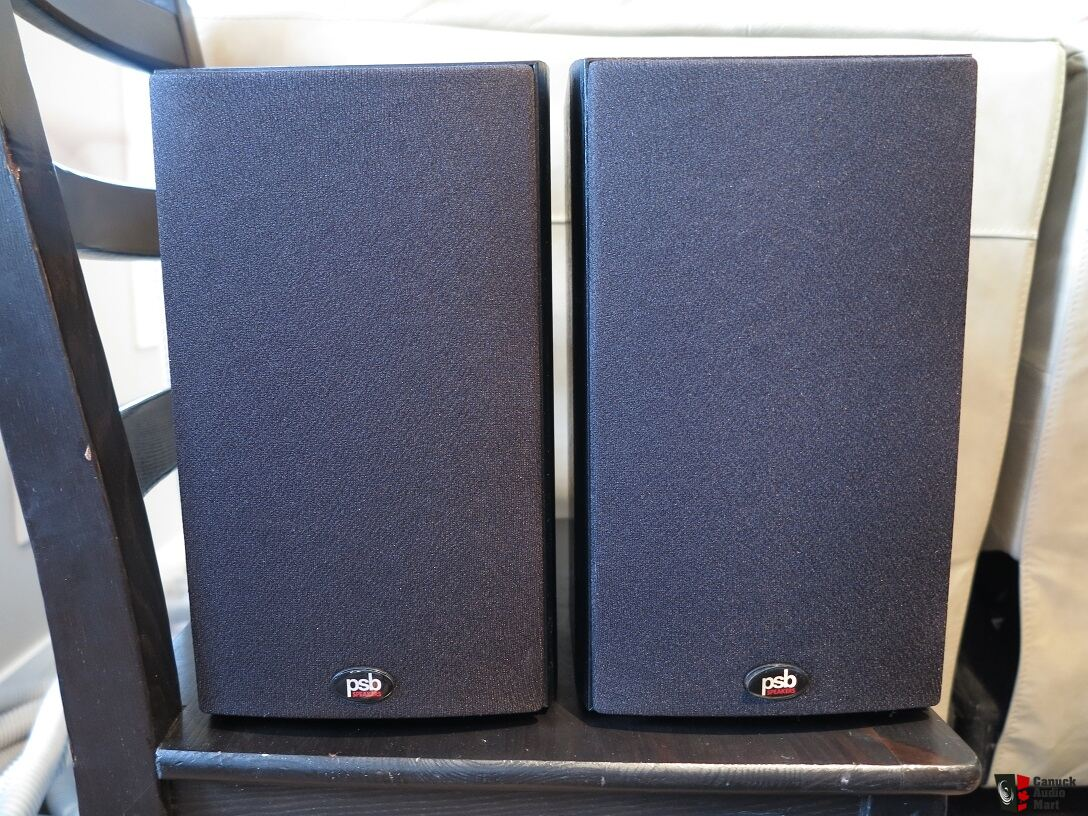 psb image b5 PSB Image B5 bookshelf speakers in black ash Photo #1299698 - US ...